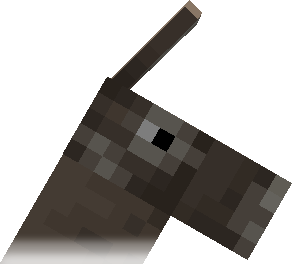 Minecraft Donkey Head