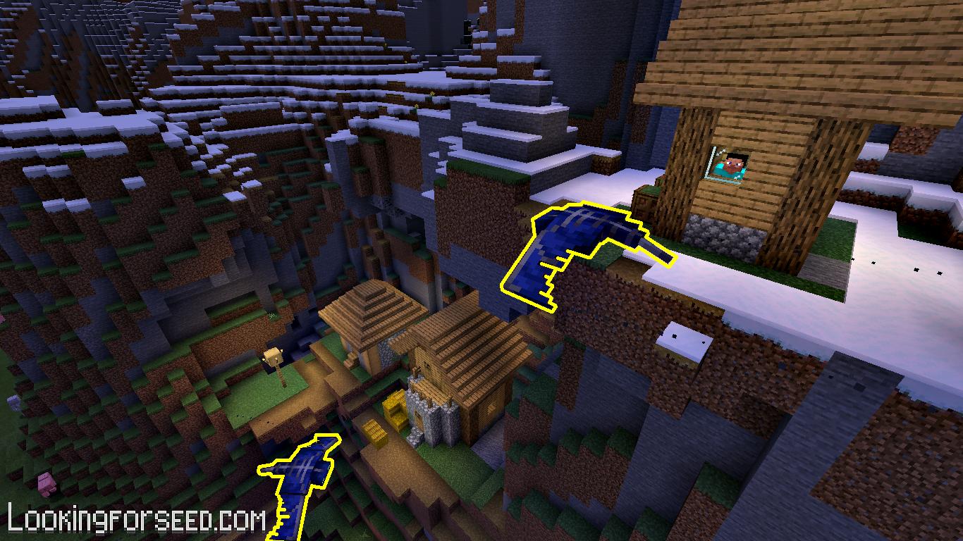 Phantom flying around the Village