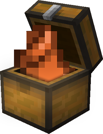 Saddle inside a Chest