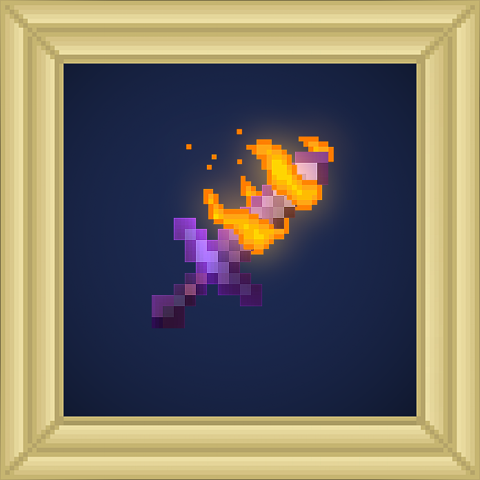Sword Fire Aspect Enchantment