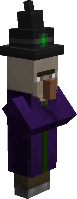 A Witch MInecraft.
