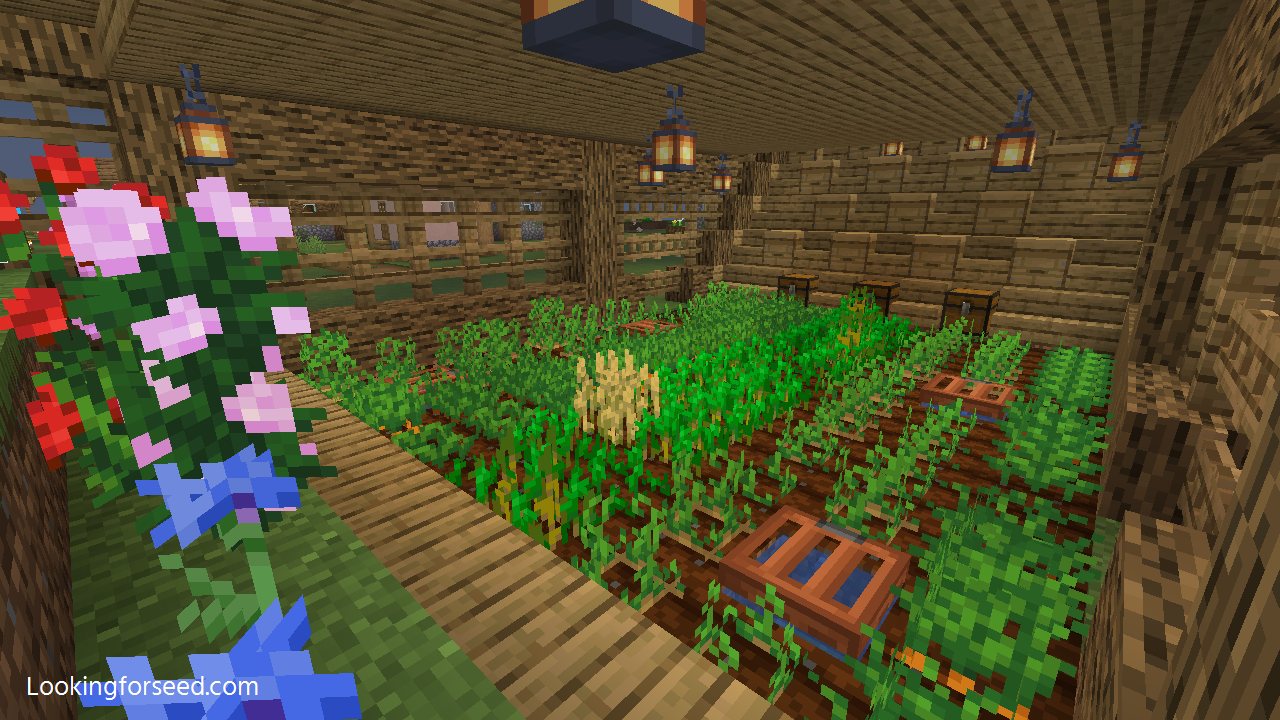 Bee Farm Minecraft