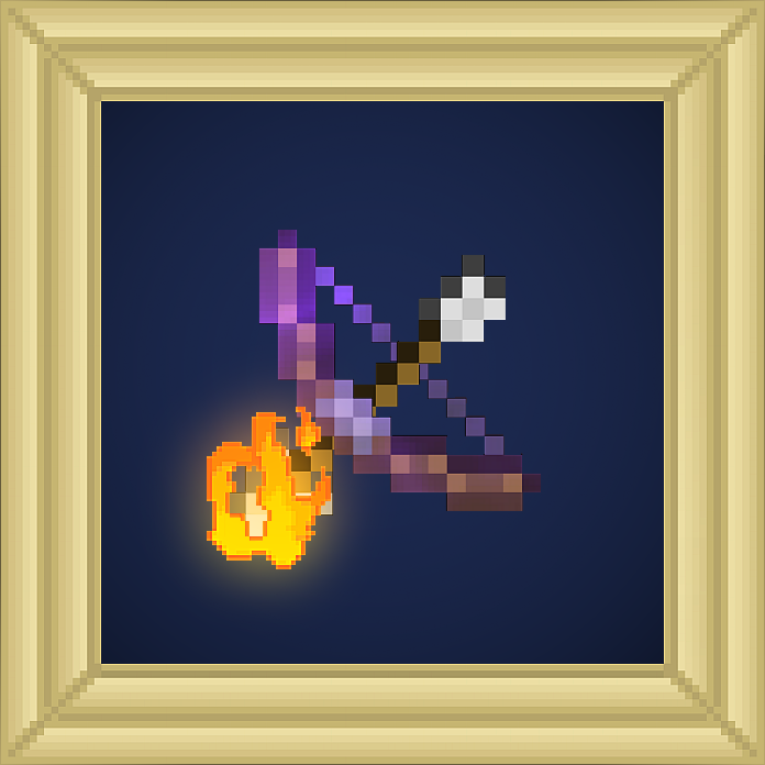 Bow Flame Enchantment