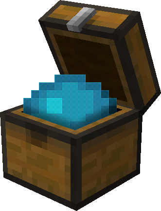 Heart of the Sea inside a Chest