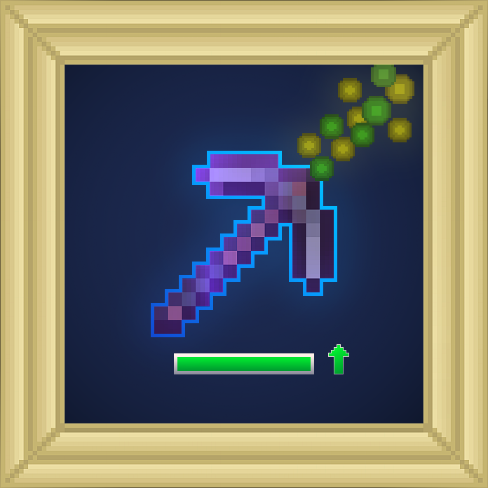 Pickaxe Mending Enchantment