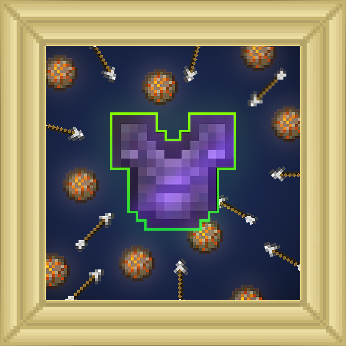 Chestplate Projectile Protection Enchantment