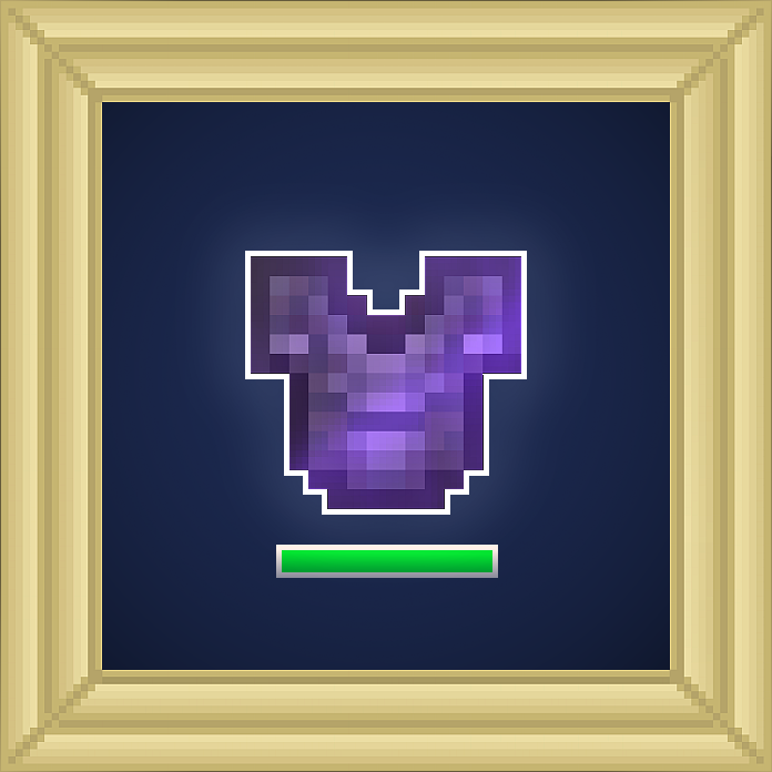 Chestplate Unbreaking Enchantment
