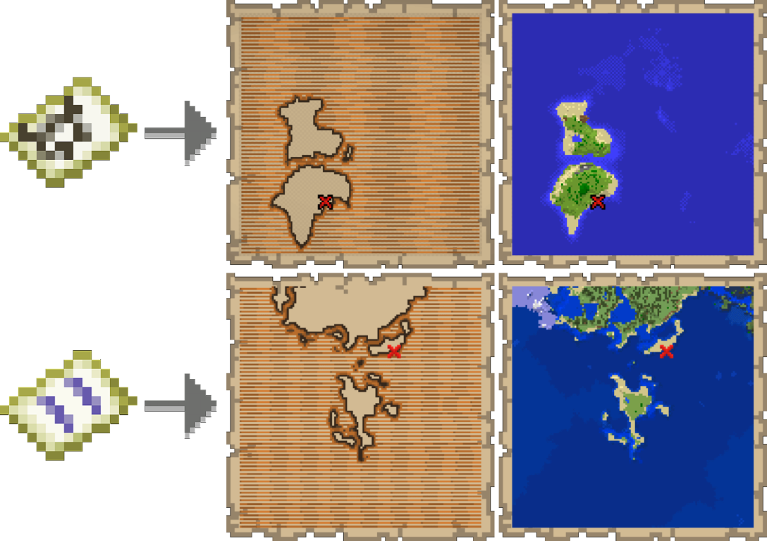 Treasure Maps Minecraft