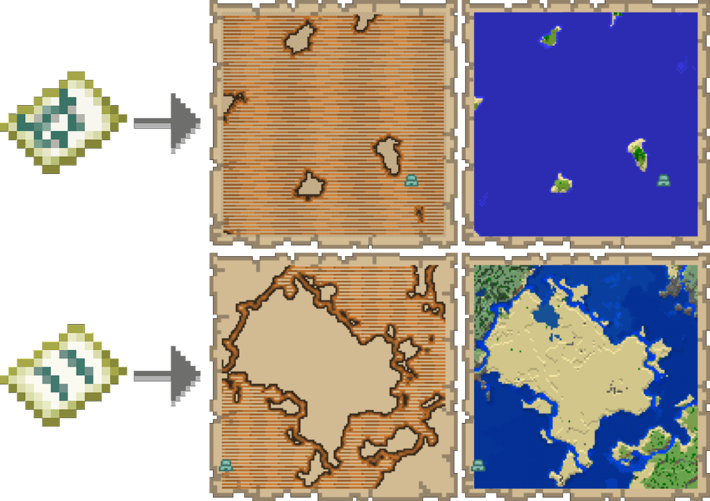 ocean explorer map minecraft