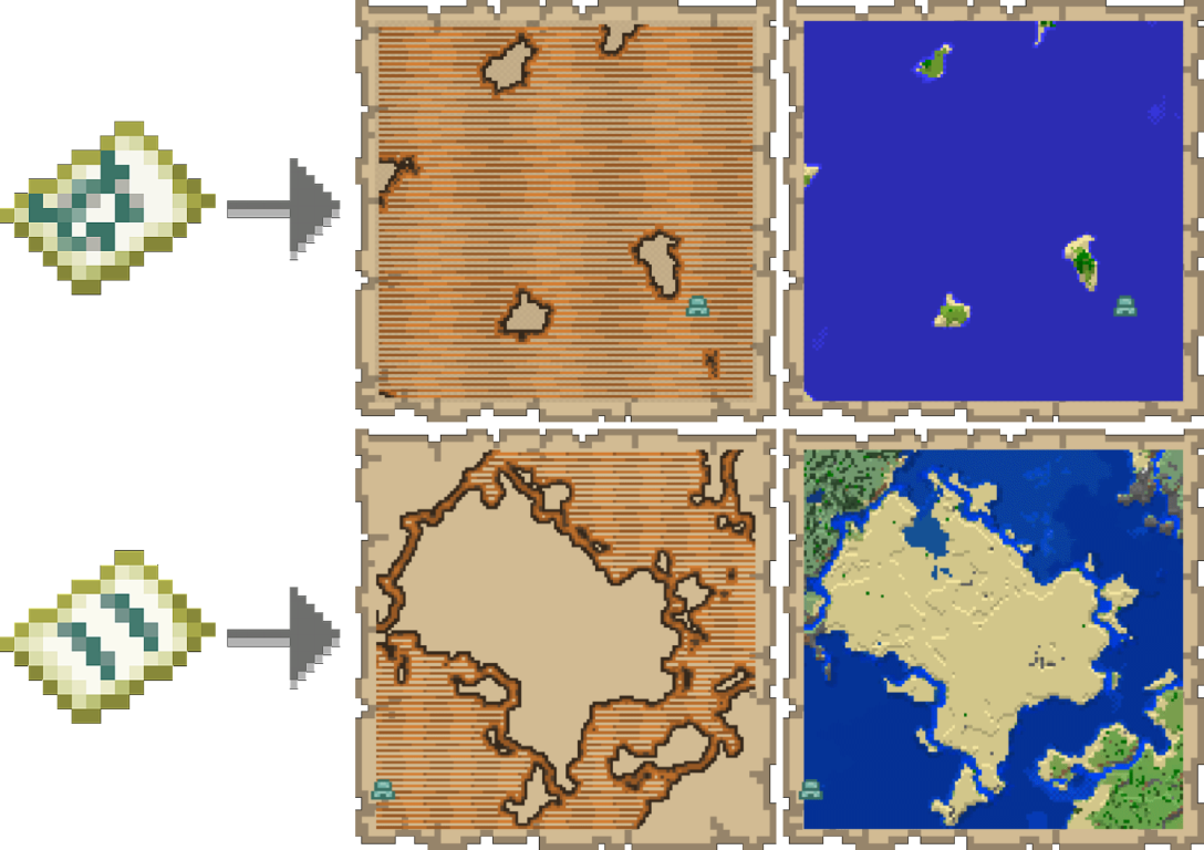 Ocean Explorer Maps Minecraft
