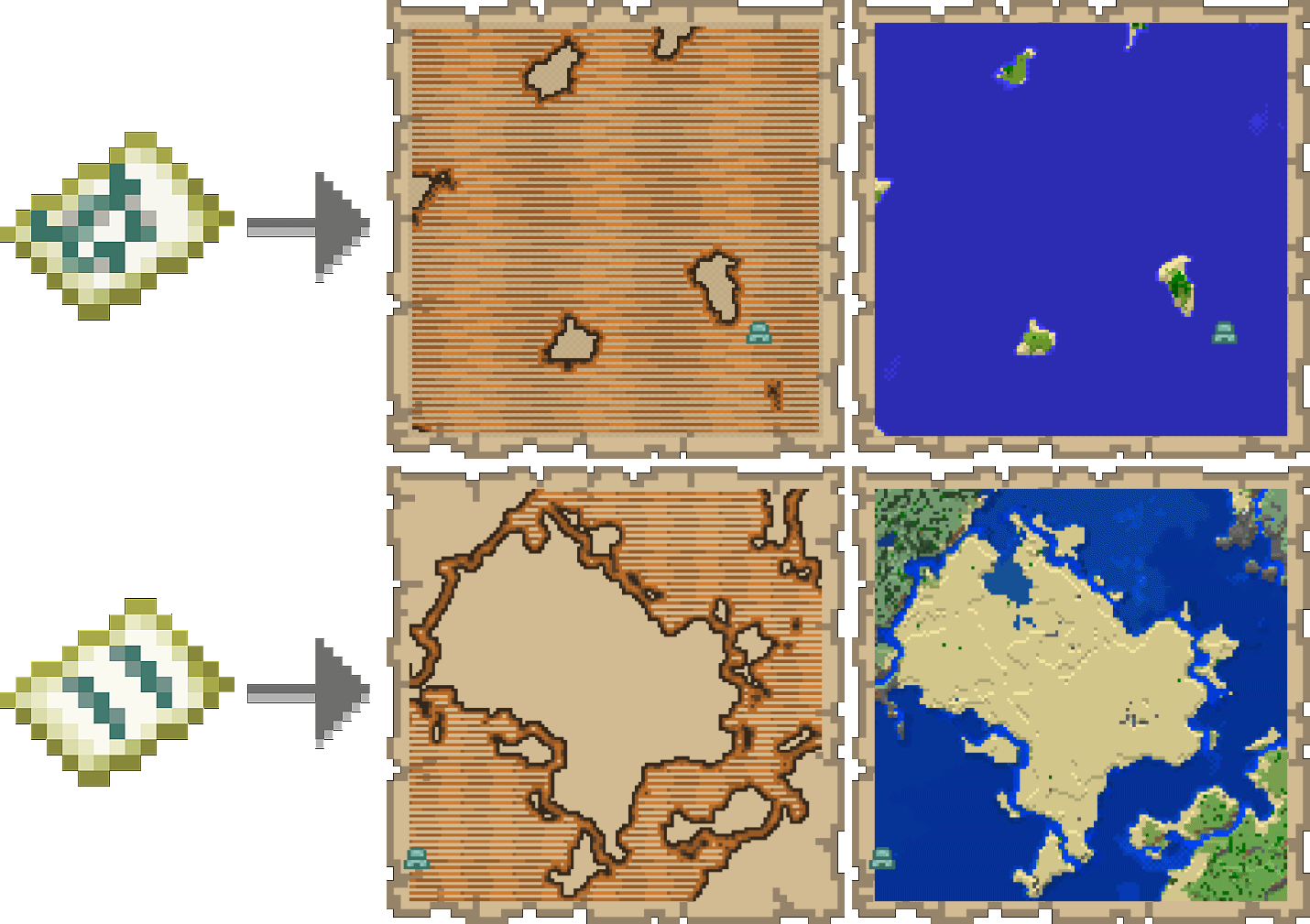 Ocean Explorer Maps Minecraft
