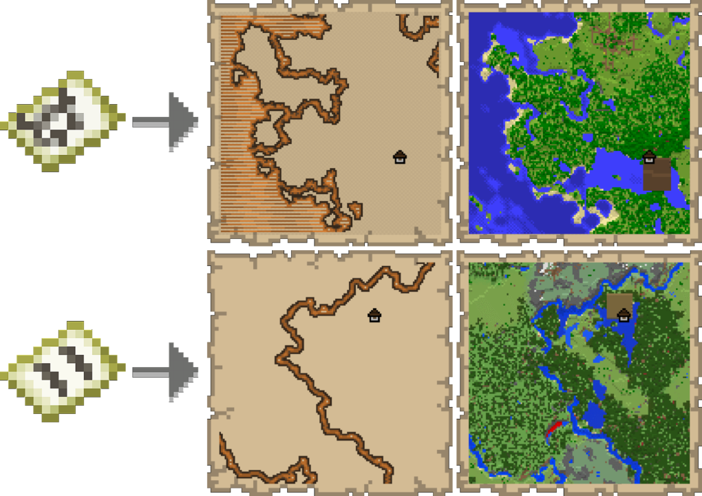 woodland explorer map minecraft