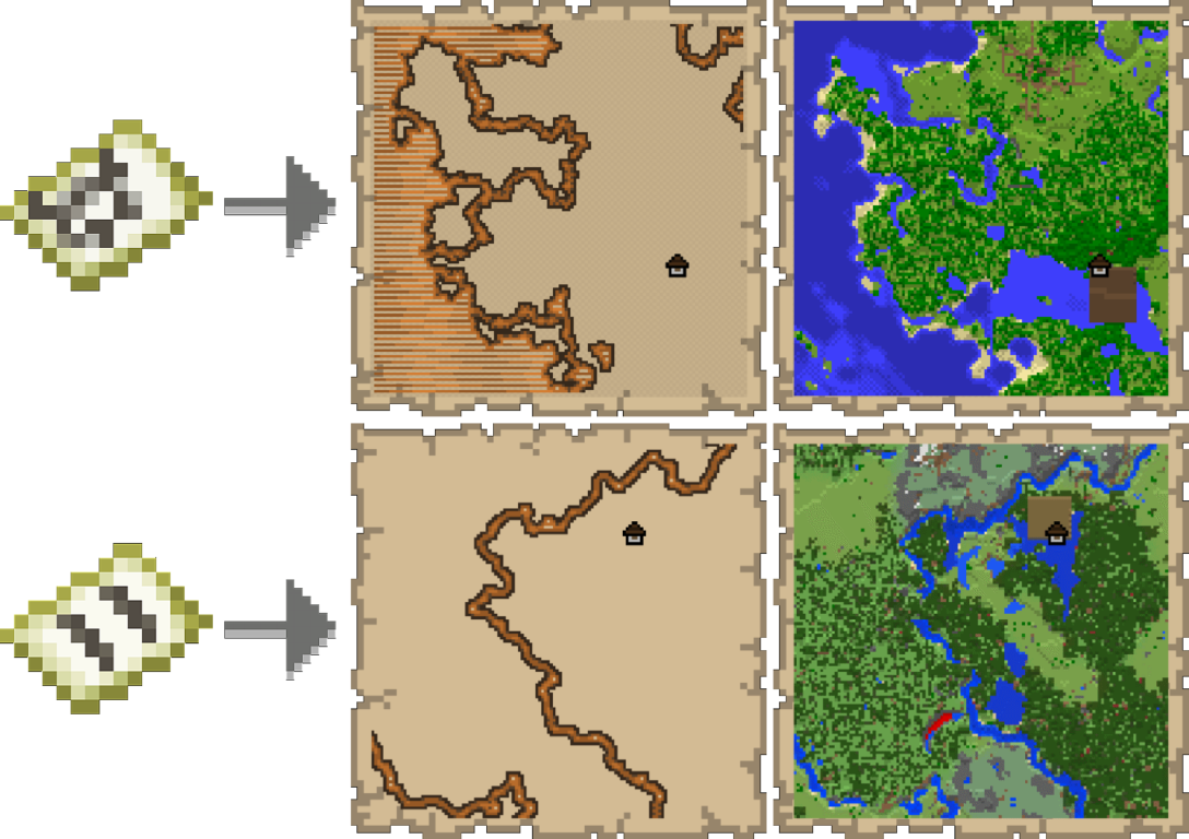 Woodland Explorer Maps Minecraft