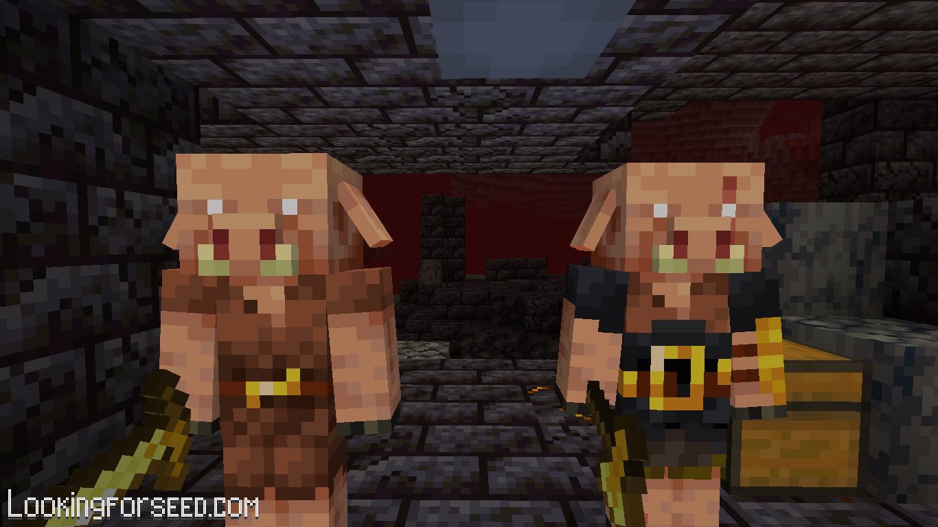 Piglin and Brute Piglin