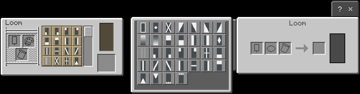 Loom UI Bedrock and Java