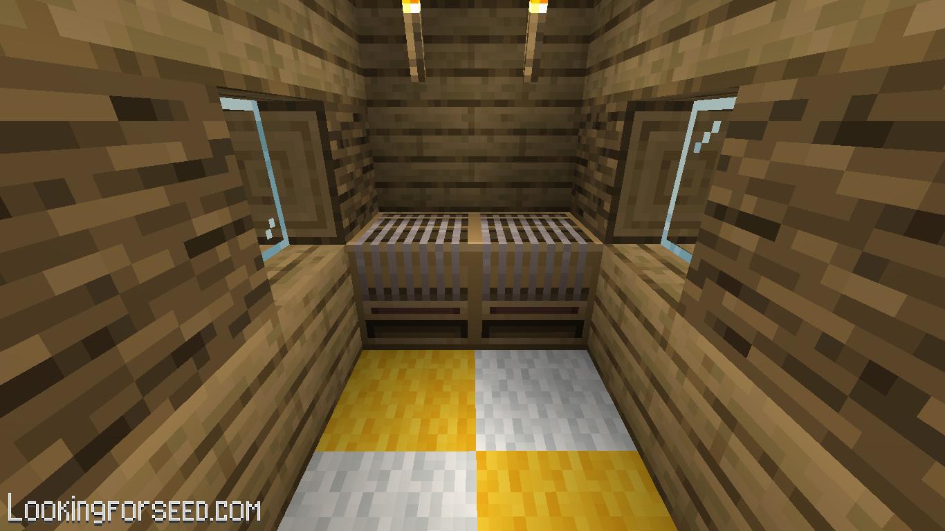 Loom inside Shepherd's house