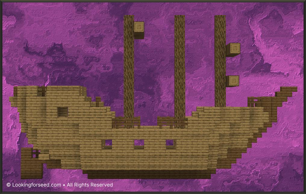 Shipwreck Minecraft
