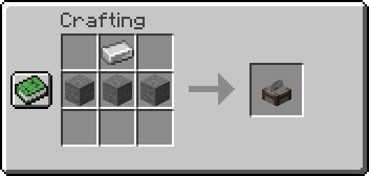 Crafting Stonecutter